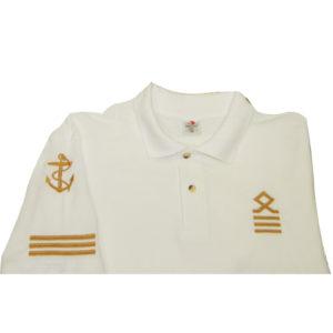 Морское Поло с Должностью / Marine Polo with Rank