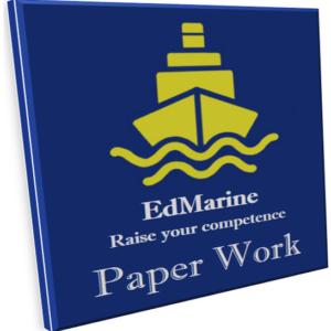 Paper work on board